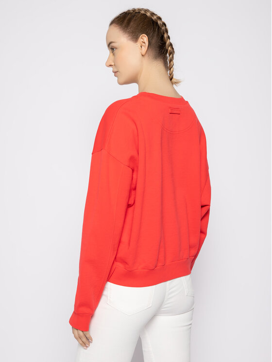 Levi's® Levi's® Sweatshirt Diana Crew 85630-0000 Rot Regular Fit