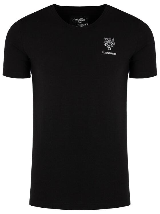 Plein Sport Plein Sport T-Shirt F19C MTK3803 SJY001N Czarny Regular Fit