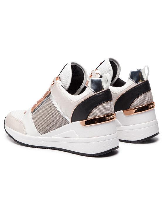 MICHAEL Michael Kors MICHAEL Michael Kors Sneakersy Georgie Trainer 43S9GEFS4D Biały