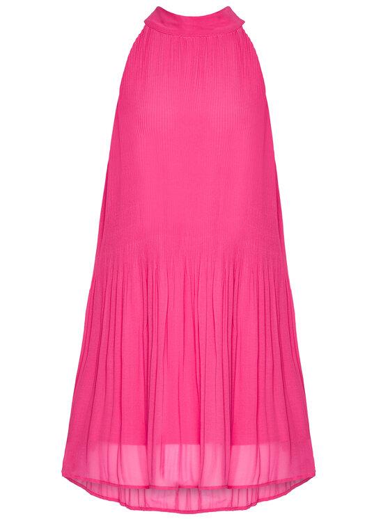 Pepe Jeans Pepe Jeans Koktejlové šaty Marilo PL952709 Růžová Regular Fit