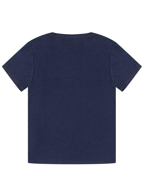 Guess Guess T-Shirt K01I10 K9IY0 Tmavomodrá Regular Fit