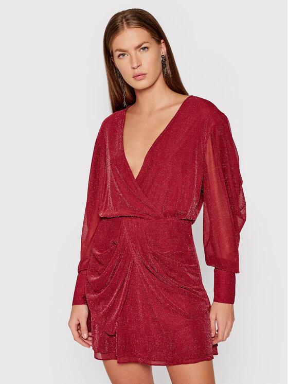 IRO Kokteilinė suknelė Breja BUR12 Raudona Regular Fit
