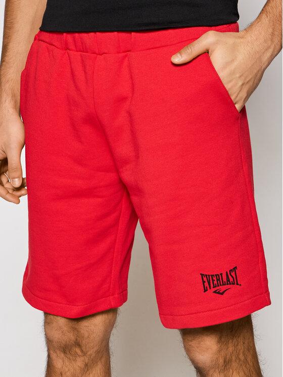 EVERLAST Sportiniai šortai 789250-60 Raudona Regular Fit
