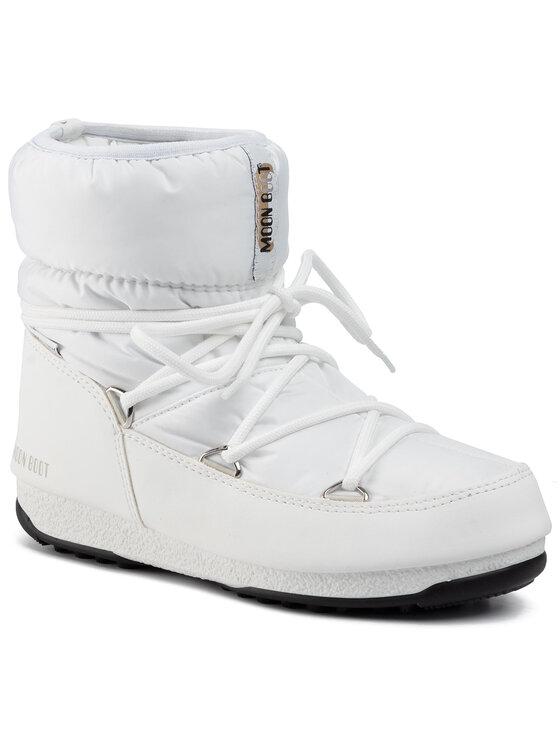Moon Boot Sniego batai Low Nylon Wp 2 240093002 Balta