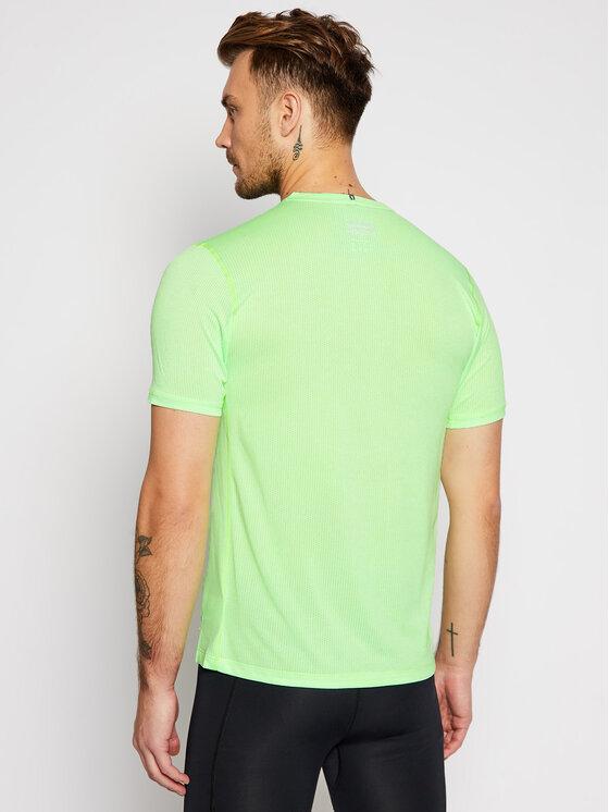 New Balance New Balance Koszulka techniczna Impact Run Ss NBMT01234 Zielony Regular Fit