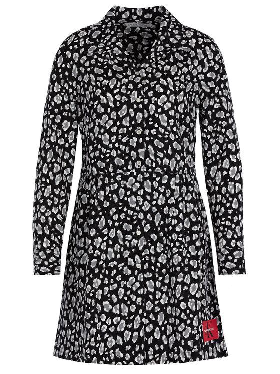 Calvin Klein Jeans Calvin Klein Jeans Sukienka koszulowa J20J212970 Czarny Regular Fit