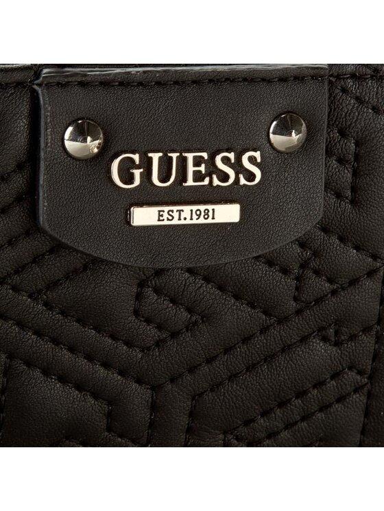 Guess Guess Duży Portfel Damski G Cube Quilt Slg SWVG62 12520 Czarny