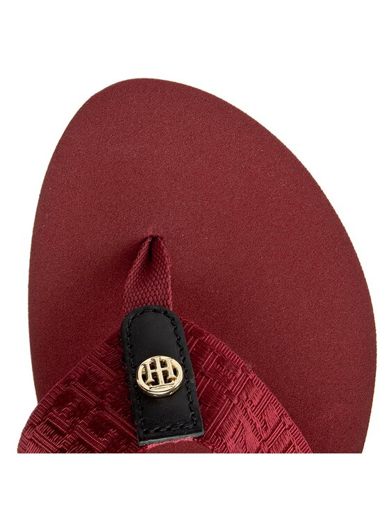 Tommy Hilfiger Tommy Hilfiger Infradito Mellie 4D FW0FW00459 Bordeaux