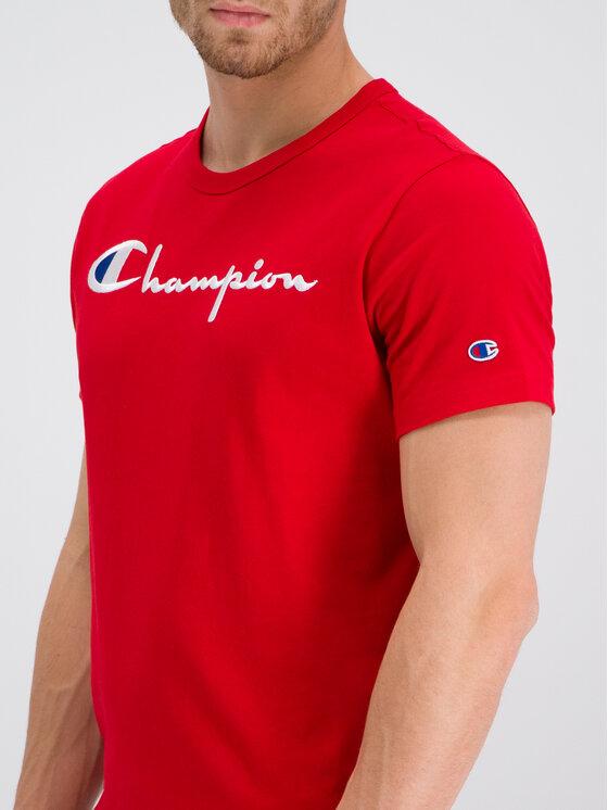Champion Champion Póló 210972 Piros Regular Fit