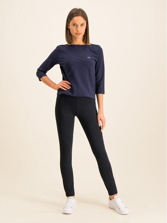 Lacoste Lacoste Spodnie materiałowe HF2041 Granatowy Slim Fit