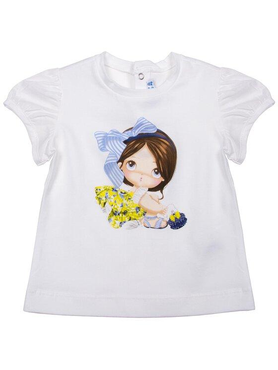 Mayoral Mayoral T-Shirt 1008 Λευκό Regular Fit