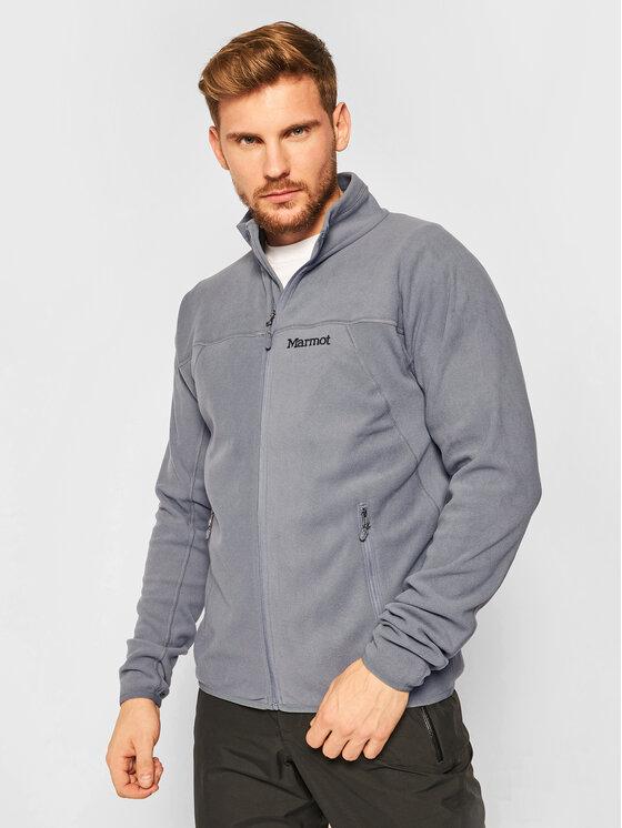 Marmot Fliso džemperis 81810 Pilka Regular Fit
