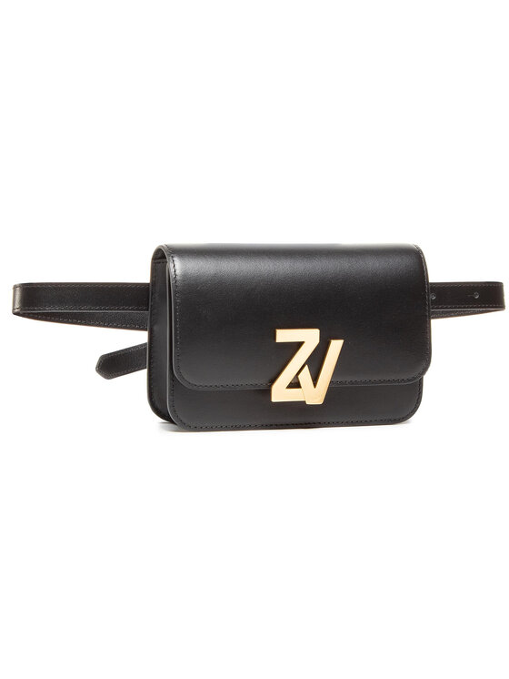 Zadig&Voltaire Rankinė ant juosmens Zv Initiale Belt Bag Calf WJAT4001F Juoda