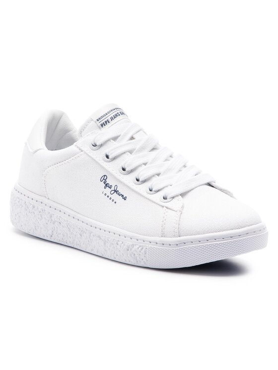Pepe Jeans Pepe Jeans Гуменки Roxy Summer PLS30855 Бял