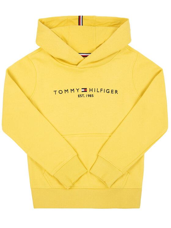 Tommy Hilfiger Tommy Hilfiger Pulóver Essential KB0KB05057 D Sárga Regular Fit