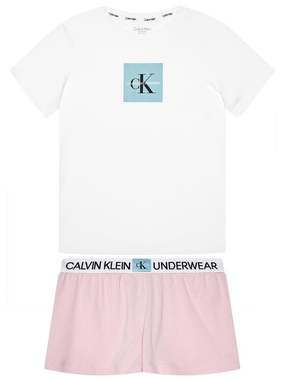 Calvin Klein Underwear Calvin Klein Underwear Pyžamo Knit Pj G80G800388 Bílá