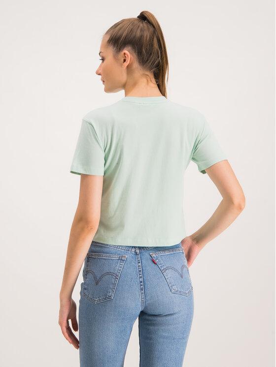 Fila Fila T-Shirt Viivika 687212 Zielony Regular Fit