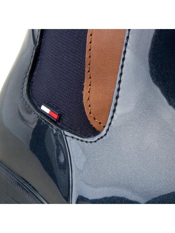 Tommy Hilfiger Tommy Hilfiger Bottes de pluie Oxley 2Z FW56821443 Bleu marine