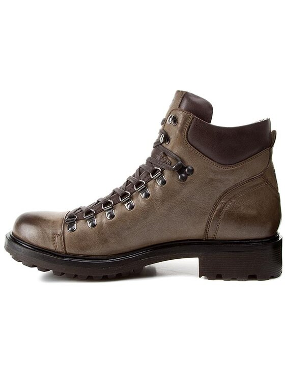 Strellson Strellson Trapery George Mid Boot I 4010001790 Brązowy
