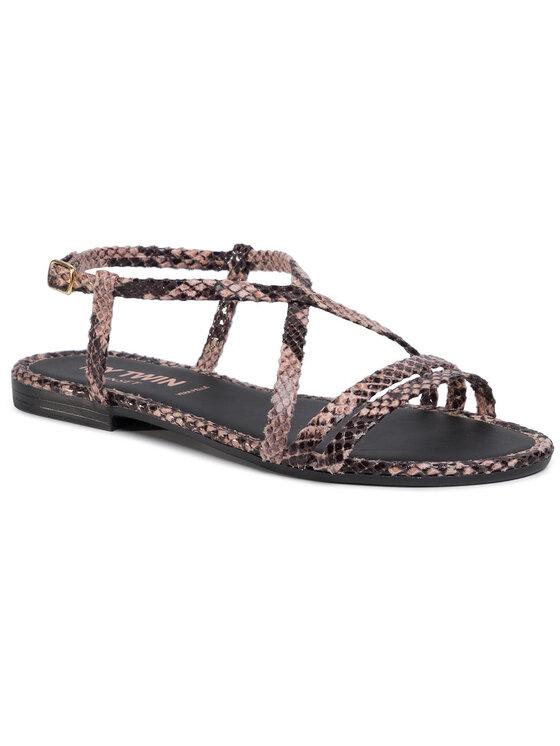 My Twin Basutės Sandalo 201MCT012 Ruda