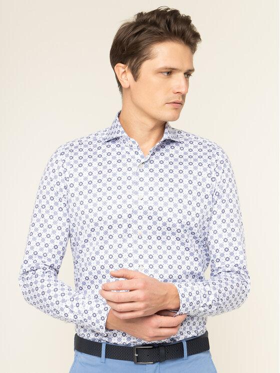 Emanuel Berg Marškiniai Harvard PEB46188 Spalvota Slim Fit