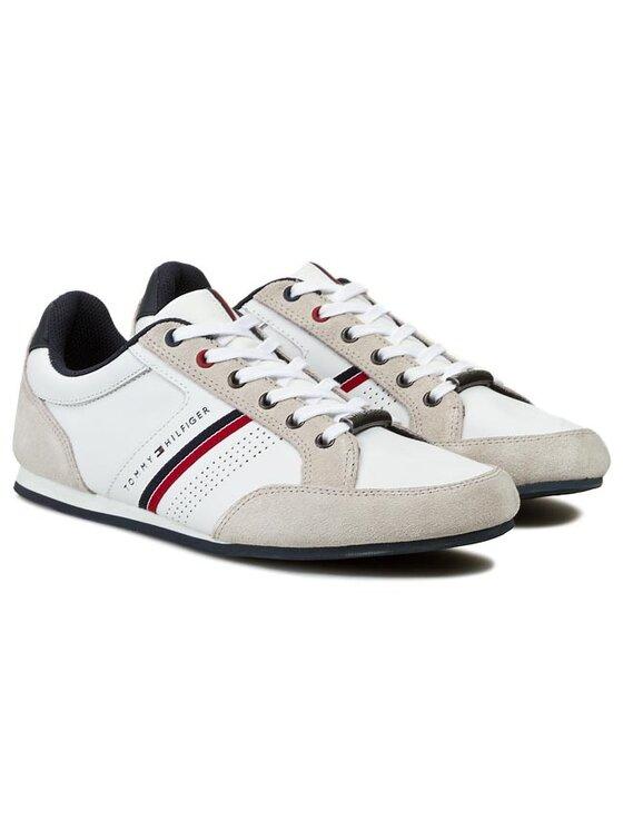 Tommy Hilfiger Tommy Hilfiger Laisvalaikio batai Ross 3C FM56817917 Balta