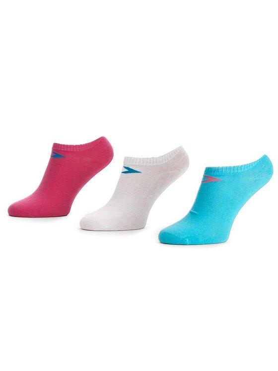 Converse Converse Moteriškų trumpų kojinių komplektas (3 poros) E220N3009 Balta