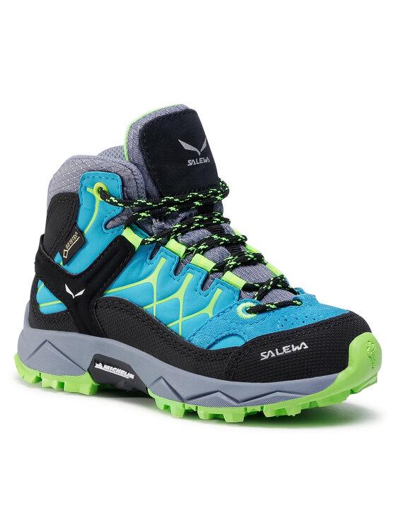 Salewa Turistiniai batai Jr Alp Trainer Mid Gtx GORE-TEX 64006-8375 Mėlyna