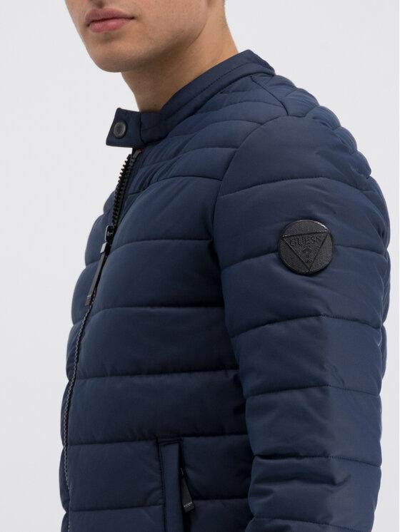 Guess Guess Átmeneti kabát M93L32 WBSB0 Sötétkék Regular Fit