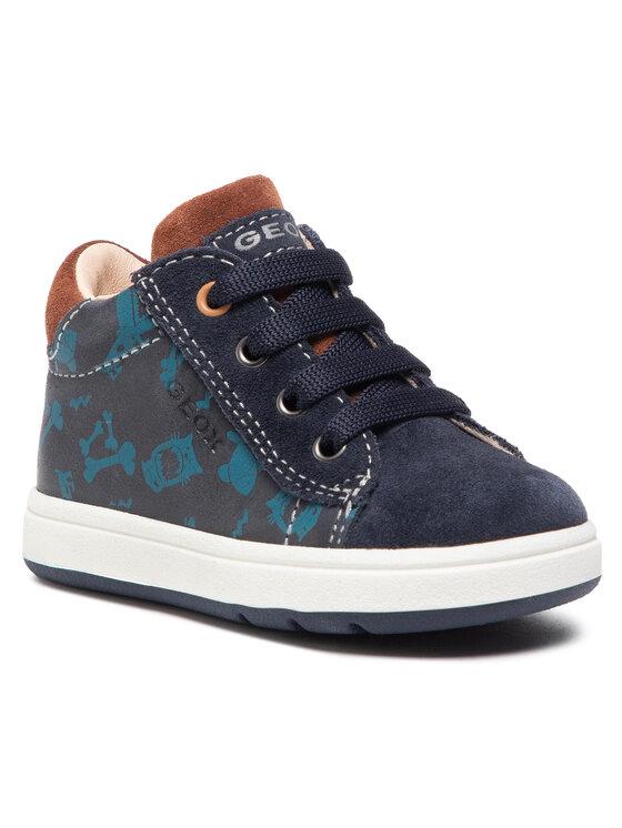 Geox Auliniai batai B Biglia B. B B044DB 0CL22 C4002 Tamsiai mėlyna