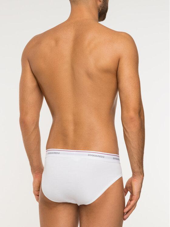 Dsquared2 Underwear Dsquared2 Underwear Súprava 3 párov slipov DCX610040 Béžová