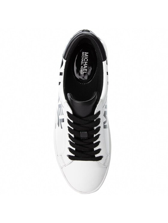 MICHAEL Michael Kors MICHAEL Michael Kors Sneakers Irving Lace Up 43T8IRFS1L Alb