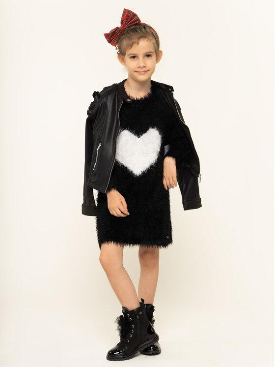 TwinSet TwinSet Kleid für den Alltag 192GJ3241 Schwarz Regular Fit