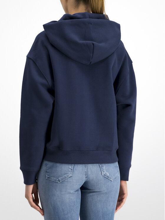 Tommy Jeans Tommy Jeans Bluză Badge Fleece DW0DW06815 Bleumarin Oversize