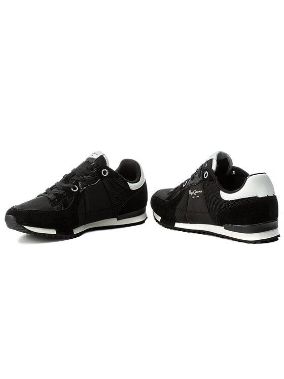 Pepe Jeans Pepe Jeans Sneakers Tinker Bold 17 PMS30378 Negru