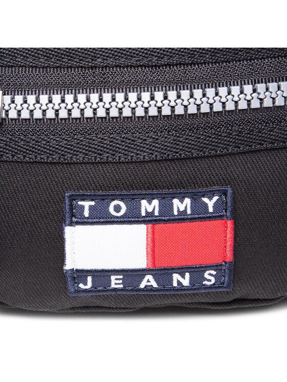 Tommy Jeans Tommy Jeans Saszetka nerka Tjm Heritage Bumbag AM0AM07142 Czarny