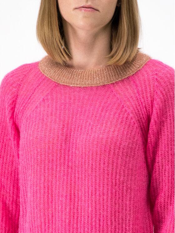 Pinko Pinko Пуловер AI 19-20 BLK01 1G14D3 Y5Q6 Розов Regular Fit