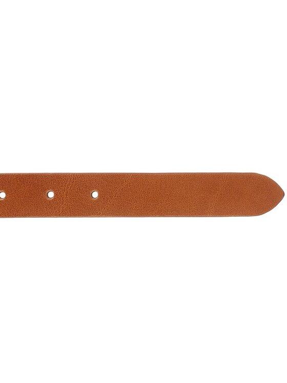 Tommy Hilfiger Tommy Hilfiger Dámsky opasok Classic Belt 2.5 AW0AW03774 75 Hnedá