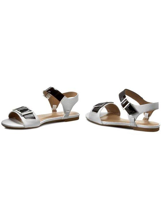Armani Jeans Armani Jeans Sandále A5544 35 1D Biela