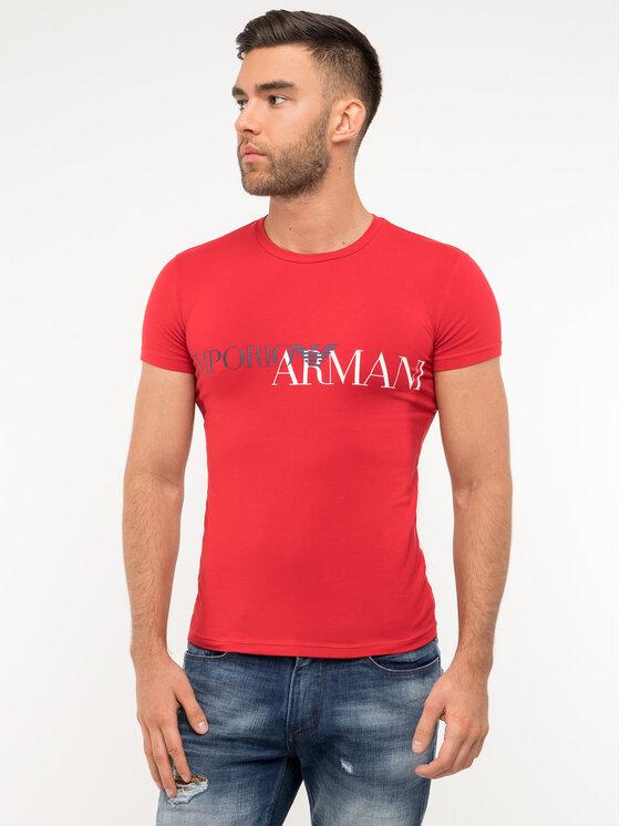 Emporio Armani Underwear Emporio Armani Underwear Tričko 111035 9P516 00074 Čierna Slim Fit