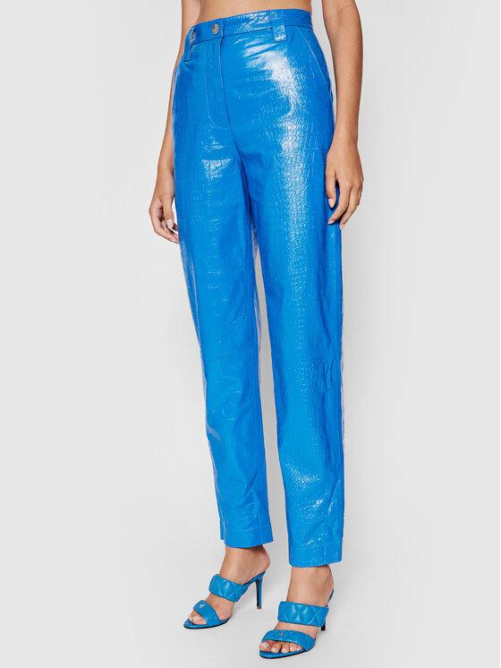 Remain Odinės kelnės Renate RM369 Mėlyna Regular Fit