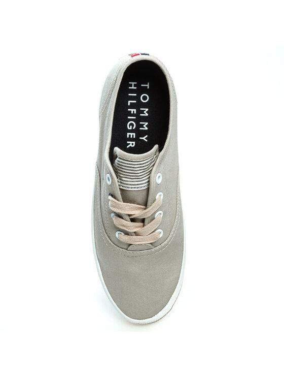Tommy Hilfiger Tommy Hilfiger Πάνινα παπούτσια Victoria 1D FW56816883 Μπεζ