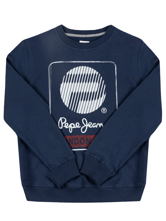 Pepe Jeans Pepe Jeans Džemperis Moises PB581111 Tamsiai mėlyna Regular Fit