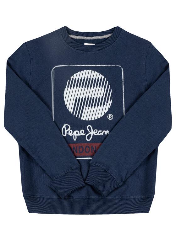 Pepe Jeans Pepe Jeans Mikina Moises PB581111 Tmavomodrá Regular Fit