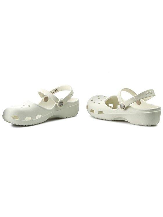 Crocs Crocs Sandały Karin Clog W 202494 Biały