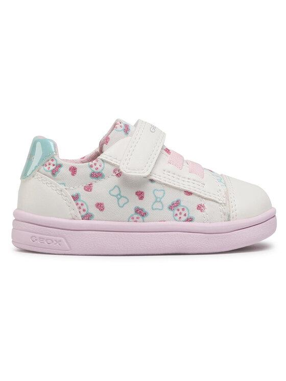 Geox Geox Sneakersy B Djrock G. A B151WA 0AW54 C1000 M Biały