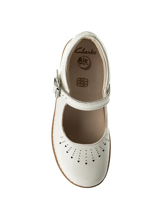 Clarks Clarks Chaussures basses Crown Jump 261329356 Blanc