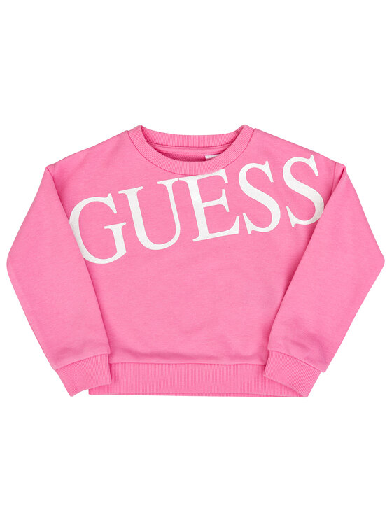 Guess Guess Felpa K93Q06 K8ZT0 Rosa Regular Fit