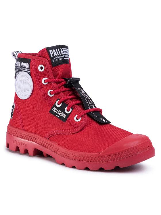 Palladium Žygio batai Lite Overlab U 761419 625-M Raudona