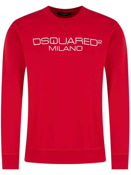Dsquared2 Dsquared2 Суитшърт Milano S74GU0399 Червен Regular Fit